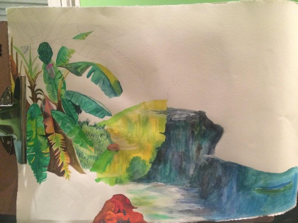 jungle in process